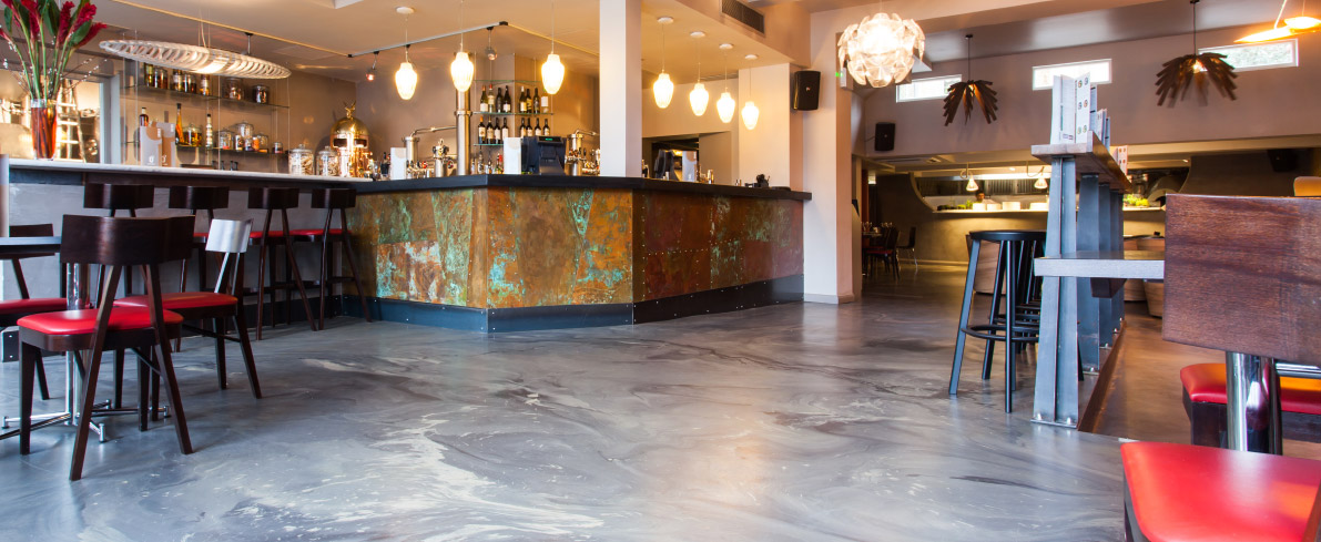 Restaurant Flooring - Zero Degrees, London