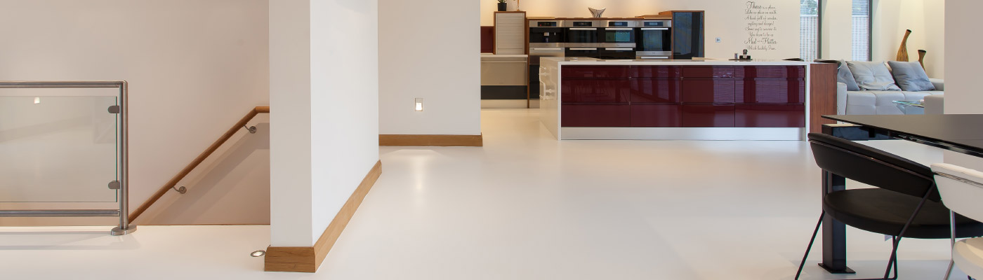Modern kitchen floors