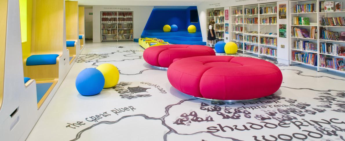 Floor Graphics at Clapham School