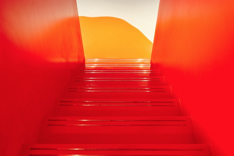 Poured resin floors at Twickenham Studios