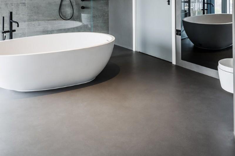 Terrazzo resin flooring by Sphere8