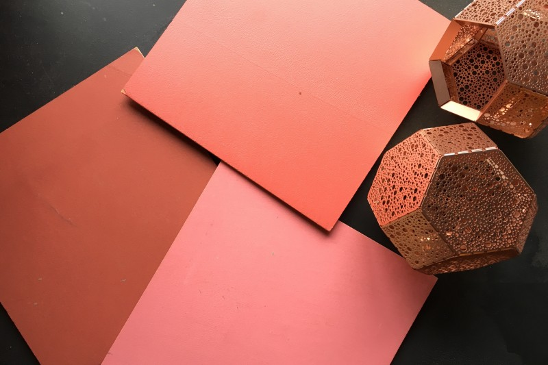 Pink Resin Wall Colours by Sphere8