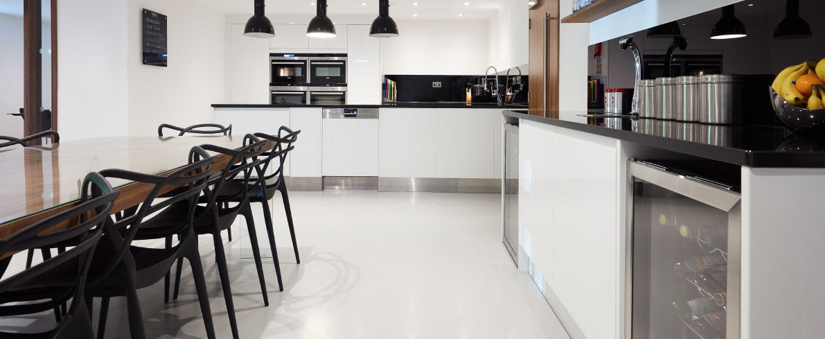 Chic kitchen floors
